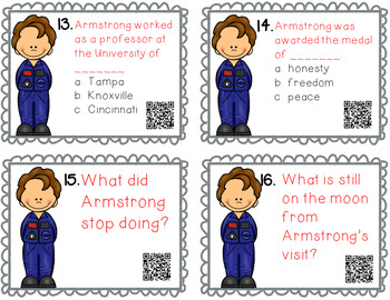 Neil Armstrong QR Quest