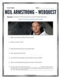 Neil Armstrong - Webquest with Key
