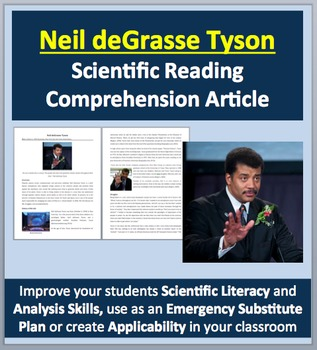 Neil deGrasse Tyson - A Famous Scientist Reading