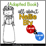 Nellie Bly Adapted Book [Set of 2] | Famous Women in History