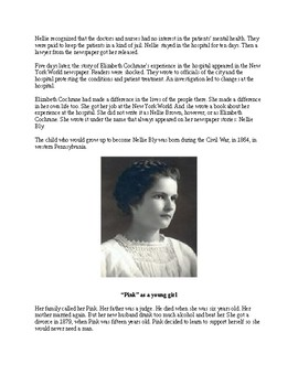 Nellie Bly - Famous Reporter - A Biography for Kids