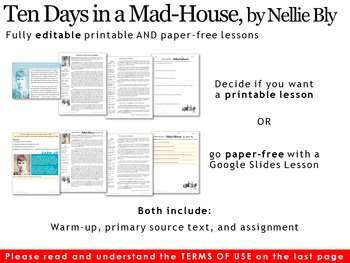 Nellie Bly: Ten Days in a Mad-House