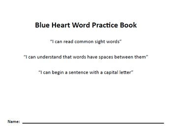 Nellie Edge Heart Word Practice Books BUNDLE