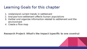 Nelson Geo 8 Chapter 3 Slide Show Notes