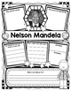 Nelson Mandela Organizer for Guided Research: Perfect for Black History Month