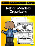 Nelson Mandela Organizer for Guided Research: Perfect for