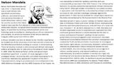 Nelson Mandela Activity Pack