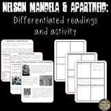Nelson Mandela & Apartheid: Differentiated Readings and Activity