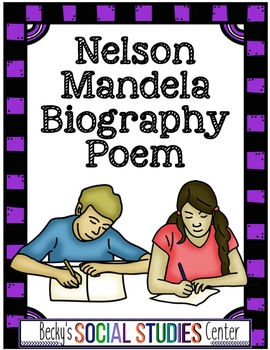 Nelson Mandela Biography Poem