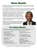 Nelson Mandela Biography, Song Lyrics, and Questions