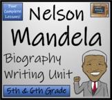 Nelson Mandela - Biography Writing Activity