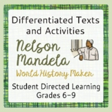 Nelson Mandela Black History Differentiated Texts and Activities