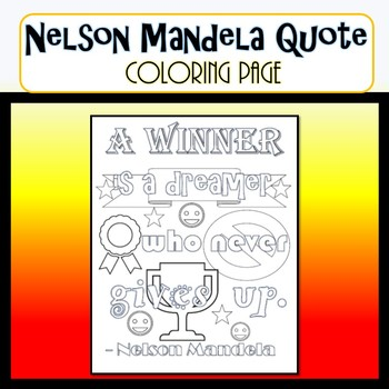 nelson mandela coloring page quote nelson mandela coloring page quote