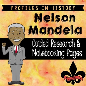 Nelson Mandela Guided Research Activity