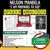 Nelson Mandela I Am Prepared to Die Speech Analysis & Writ