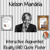 Nelson Mandela Interactive Quote Poster
