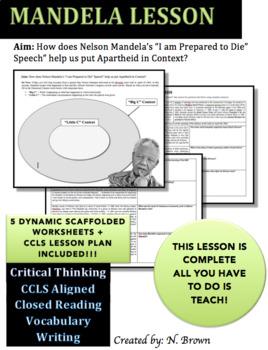 Nelson Mandela Lesson