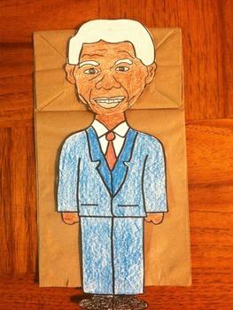 Nelson Mandela Puppet