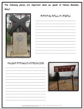 Nelson Mandela Study and Worksheet Combo