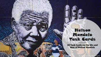 Nelson Mandela Task Cards