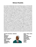 Nelson Mandela Word Search