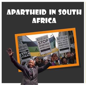 Nelson Mandela and Apartheid 90+ Minute Lesson Plan