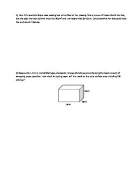 Nelson Math Gr. 7 Chap. 11 Quiz