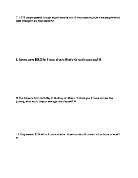 Nelson Math Gr. 7 Chap. 2 Quiz