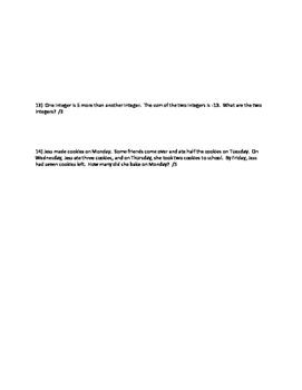 Nelson Math Gr. 7 Chap 6 Test-MOD