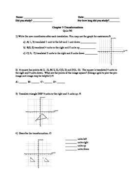 Nelson Math Gr. 7 Chap. 7. MOD Quiz