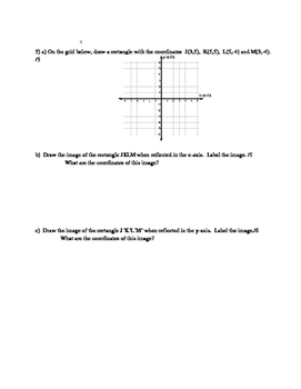 Nelson Math Gr. 7 Chap. 7 Quiz