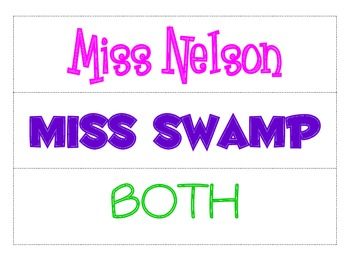 Nelson VS Swamp - Compare and Contrast