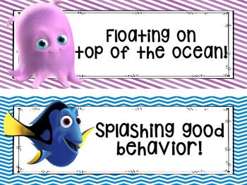 Nemo Behavior Clip Chart