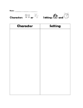 Nemo Character and Setting and Graphing