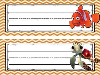 EDITABLE Nemo Classroom Theme Kit
