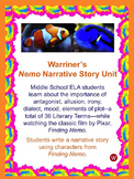 Nemo Narrative Story Writing Unit