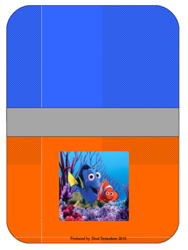 Nemo Teacher Binder Set Editable