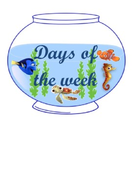 Nemo days of the week and months of the years