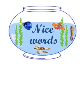 Nemo nice words cursive
