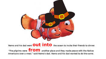 Nemo's First Thanksgiving Book