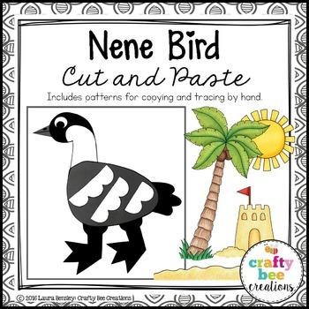 Nene Bird Cut and Paste