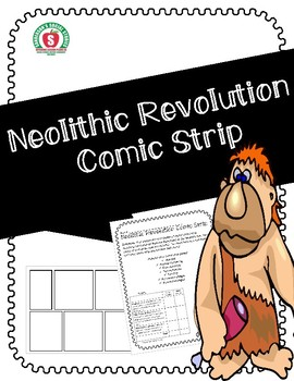 Neolithic Revolution Comic Strip Activity (Early Humans)