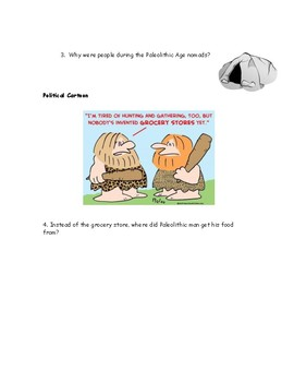 Neolithic Revolution Reading and Questions