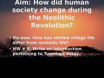 Neolithic Revolution vs. Paleolithic Age