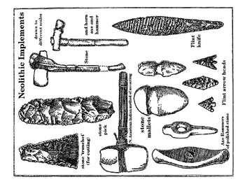 Neolithic and Paleolithic Tools Handout