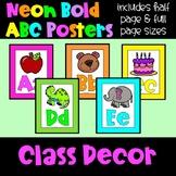 Neon ABC Posters