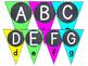 Neon Alphabet Banner