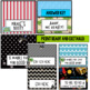 Neon Alphabet and Labels~ Editable