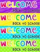 Neon Back to School Bookmarks FREEBIE