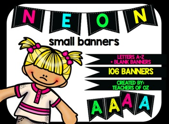 Neon Banners Small
